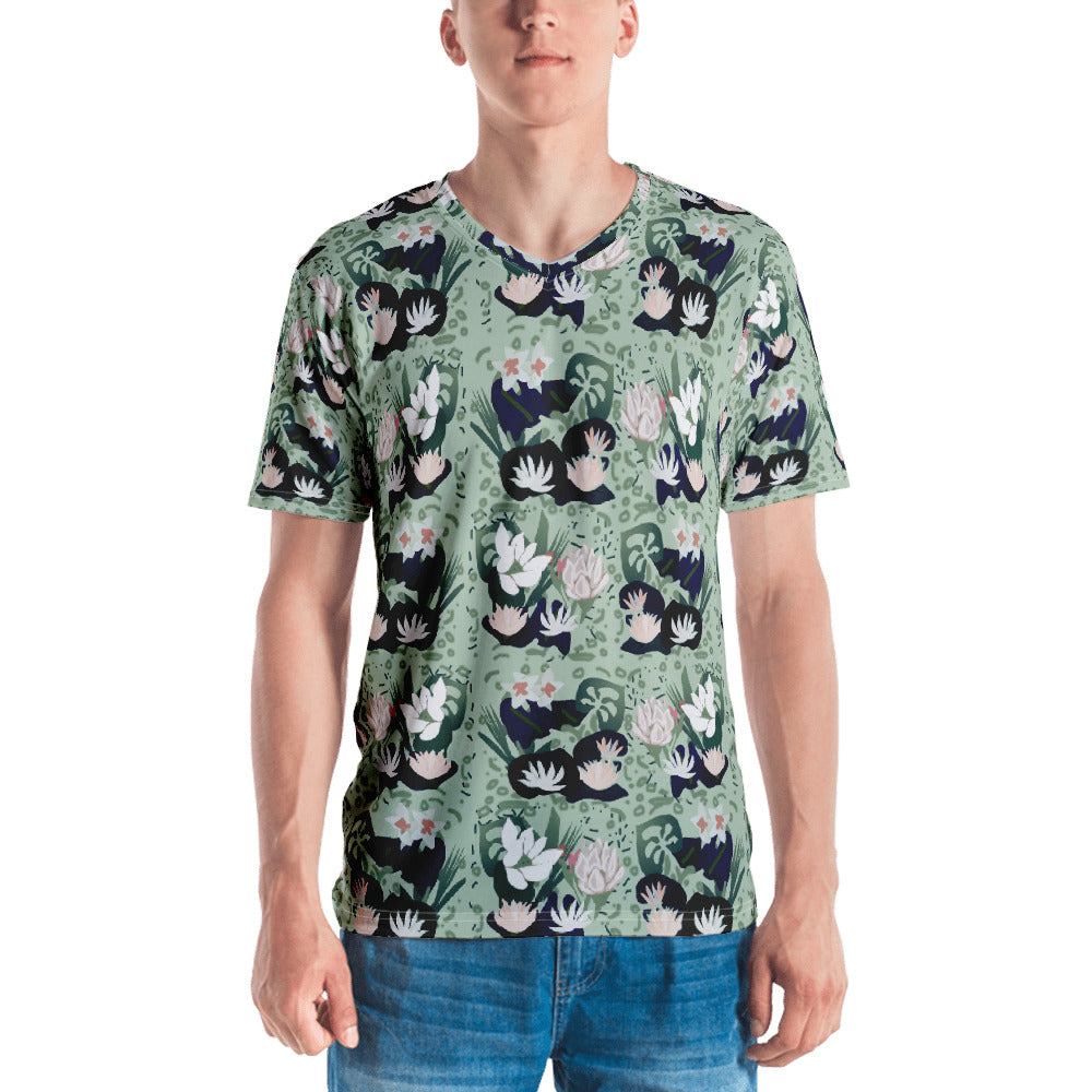Hawaiian V Neck T-shirt