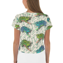 Load image into Gallery viewer, Hawaiian -  Chameleon Women's Crop Tee