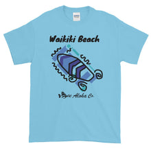 Load image into Gallery viewer, Waikiki Beach Surf Time Short-Sleeve T-Shirt