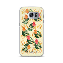 Load image into Gallery viewer, Tropical Flowers Samsung Case
