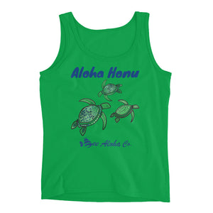 Hawaii Turtle Ladies' Tank