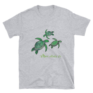 Tropical Turtle Short-Sleeve Unisex T-Shirt