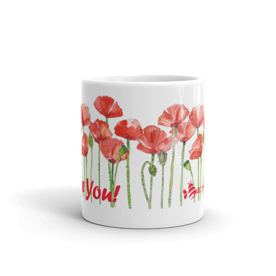 I Love You Poppy Mug