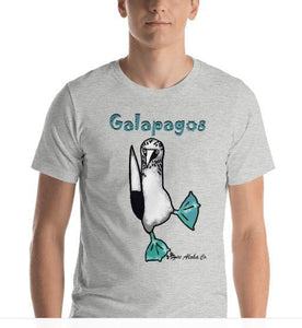 Blue Footed Booby Galapagos Short-Sleeve Unisex T-Shirt