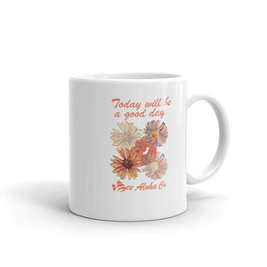 Good Day Flower Mug