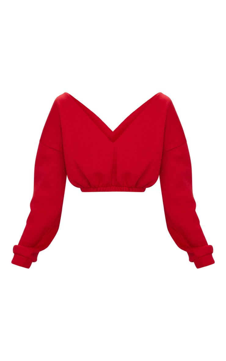 Coco Off Shoulder Crop Sweater