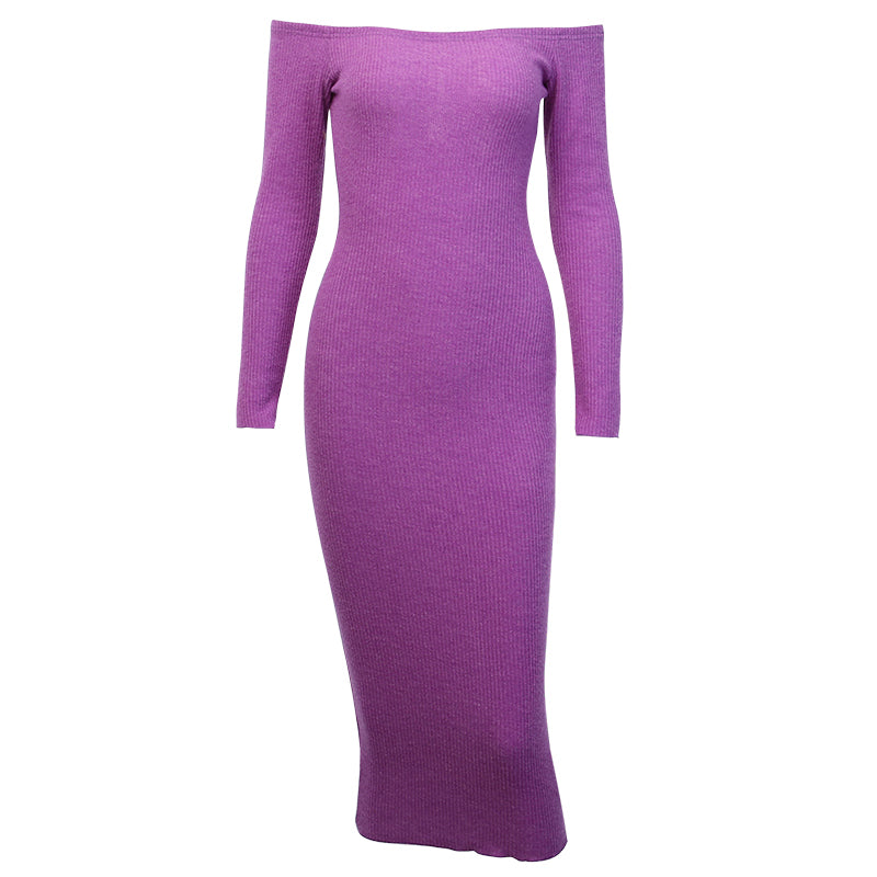 Dominique Long Sleeves Midi Dress