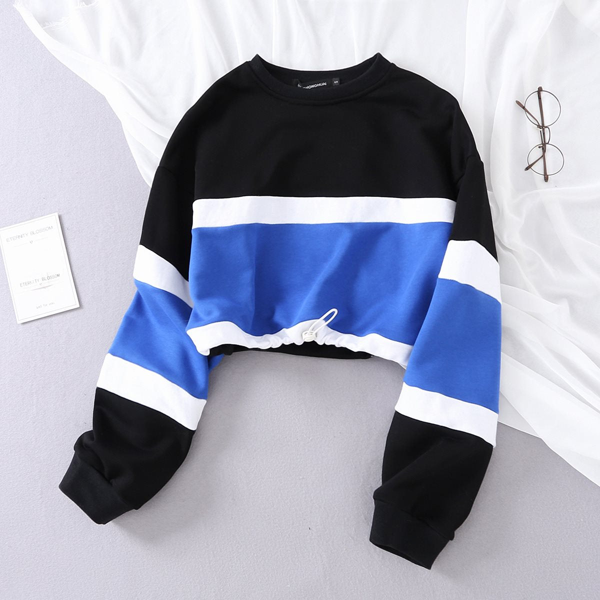 Toya Cropped Sweater