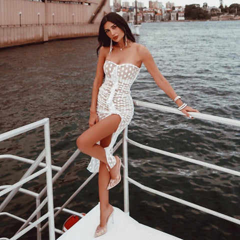 Stunna Mesh Tube Dress