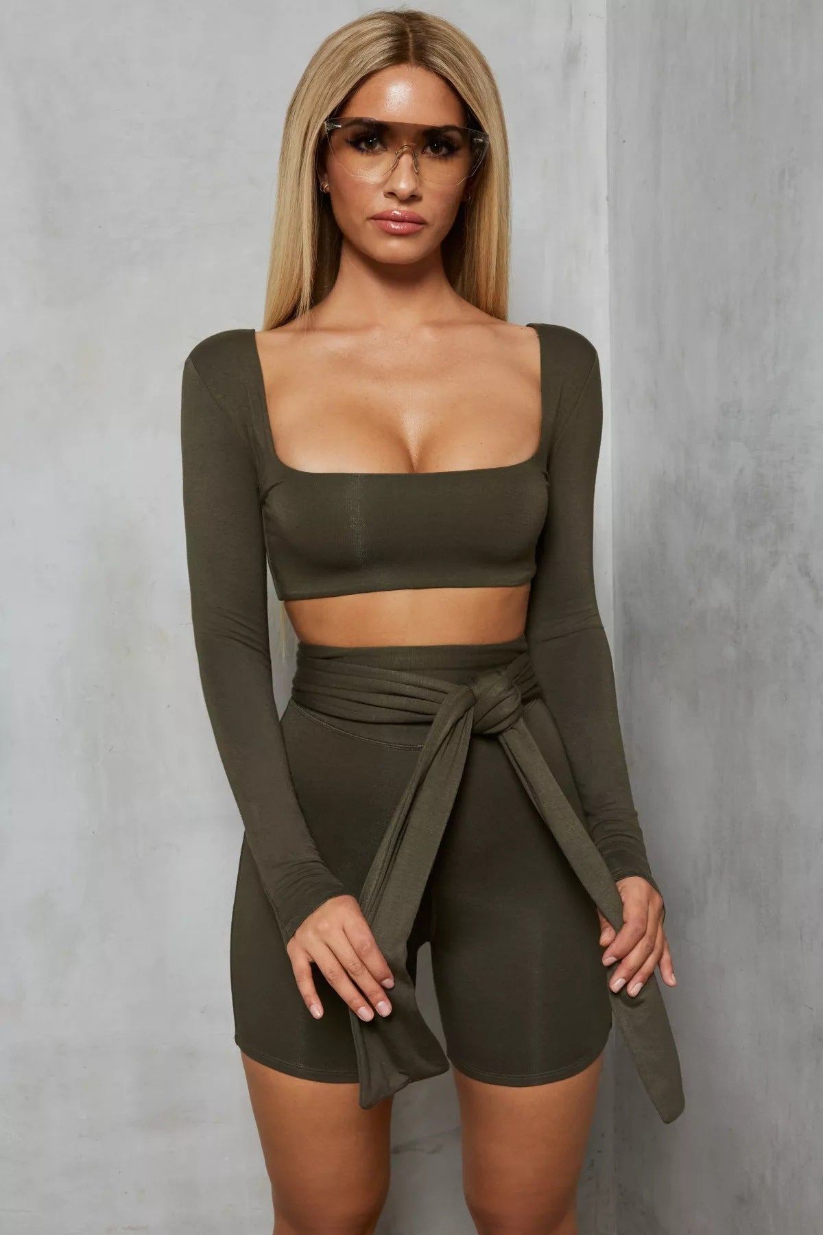 Zanotti Crop Biker Set