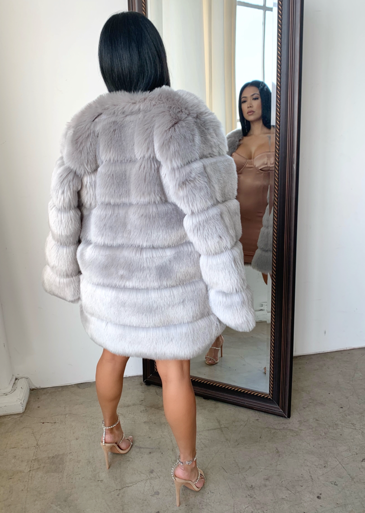 Neela Faux Fur Coat