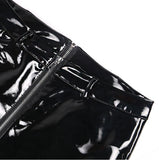 Pick A Side PVC Pants - Black