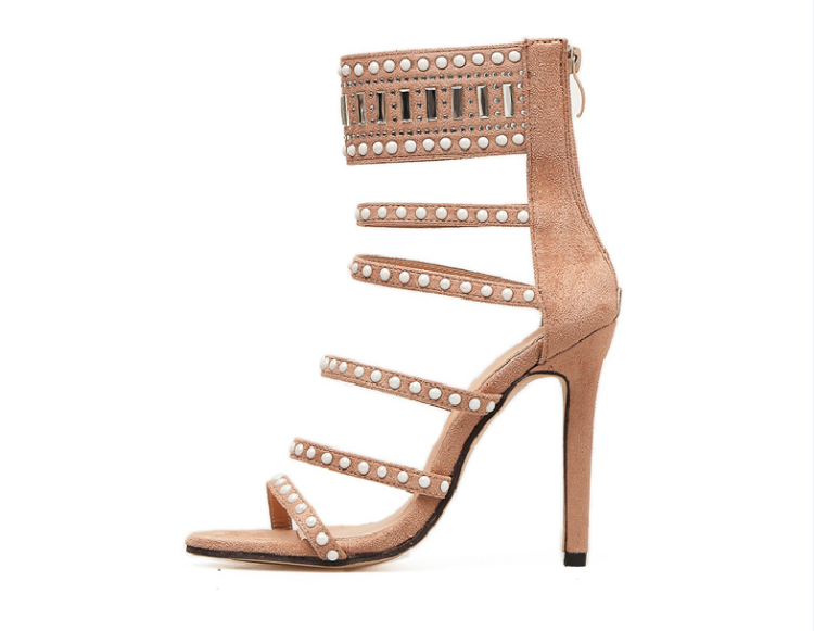 I Feel You Heeled Sandal - Nude