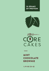 Mint Chocolate Brownie 4 Pack