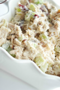 Easter Leftovers - Cranberry Pecan Turkey Salad