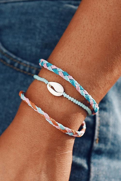 Braided Rope Layer Bracelet
