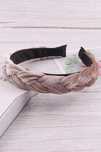 Velvet Braid Headband