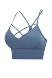 Hollow Backelss Bra