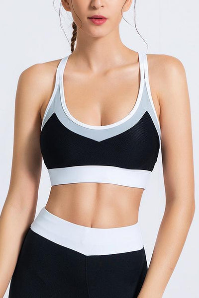 Color Block Bra