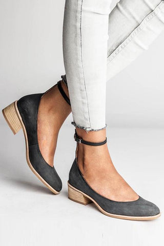 Leisure Mid Heel Single Shoes