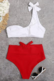 Metal Ring Knot Bikini Set