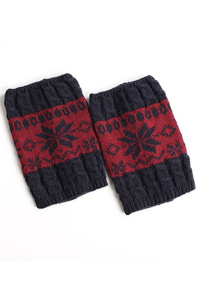Snow Flake Boot Cuffs