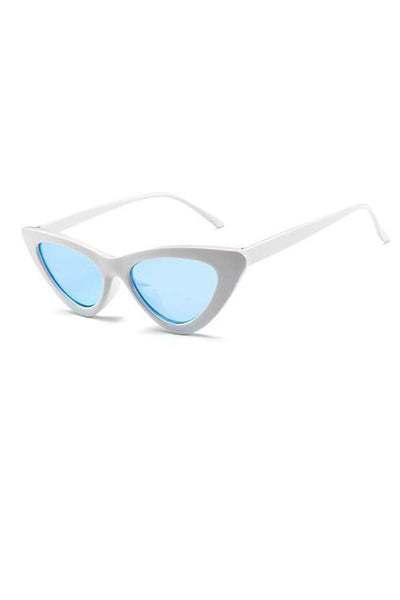 Retro Small Cateye Sunglasses