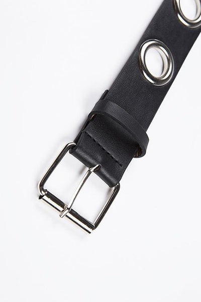 Hollow Leather Belt