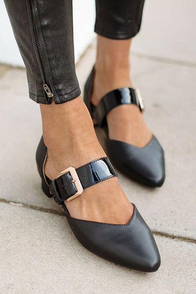 Adjustable Buckle Flats
