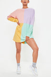 Color Block T Shirt Dress