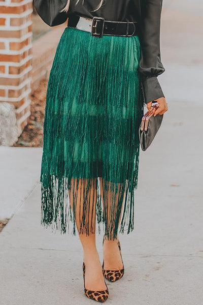 Tassels Layer Skirts