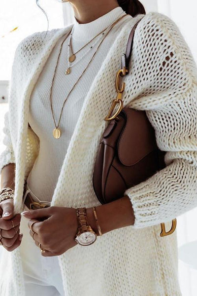 Basics Loose Cardigan