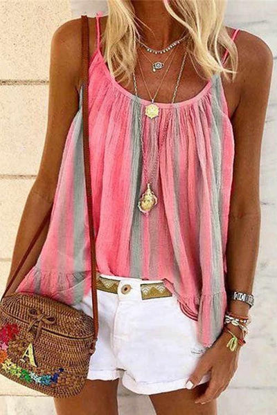 Stirp Loose Slip Blouse