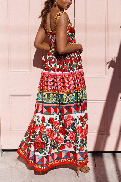 Wild Flower Slip Maxi Dress