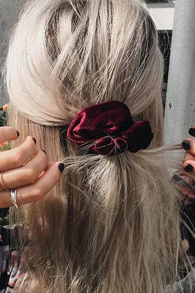 Velvet Luxury Soft Hair Scrunchie