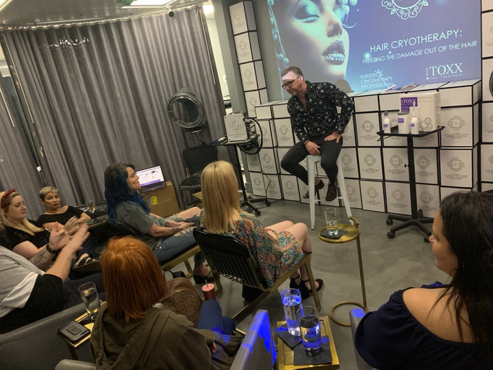 HAIR CRYOTHERAPY CERTIFICATION CLASS*