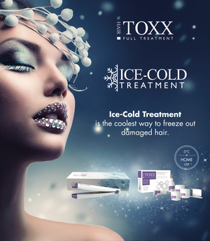 FROZEN FLAT IRON FOR HAIR.TOXX TREATMENT