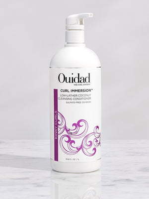 Curl Immersion™ Low-Lather Coconut Cleansing Conditioner