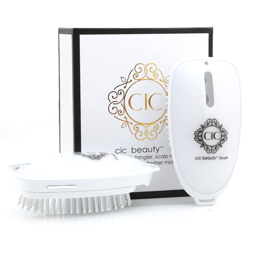 Beauty Brush and a.c.e. Infuser (With Charger and Elixir Sample) Re-Style / Hydrate / Fragrance (WORLDWIDE PATENT PENDING)