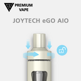 Joyetech eGo AIO child safety lock from Premium Vape NZ