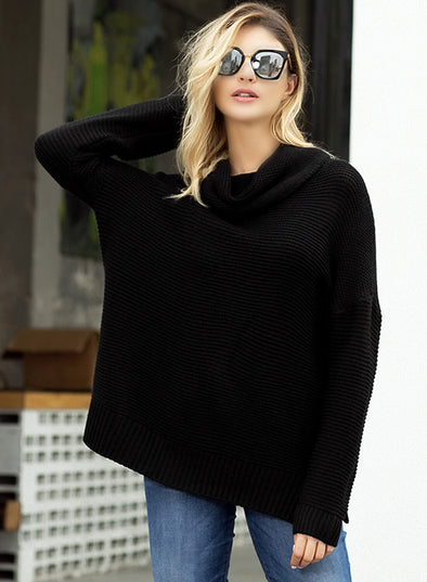 Cozy Long Sleeves Turtleneck Sweater