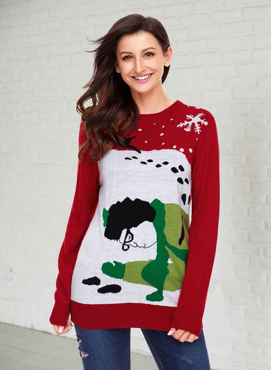 Got Run Over By Reindeer Christmas Sweater