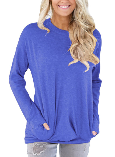 Pocket Style Long Sleeve Top
