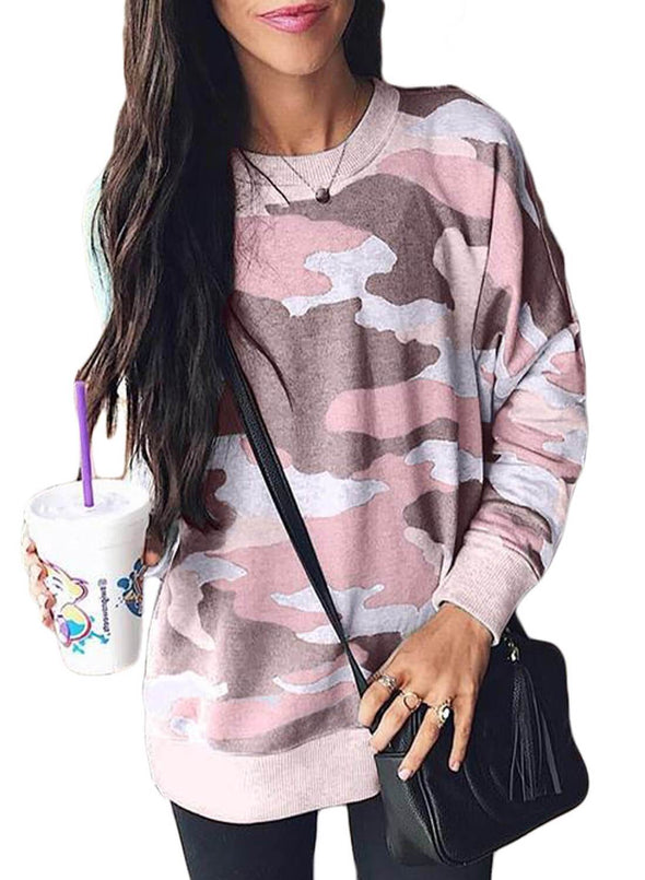 New Camo Long Sleeve Sweatshirt