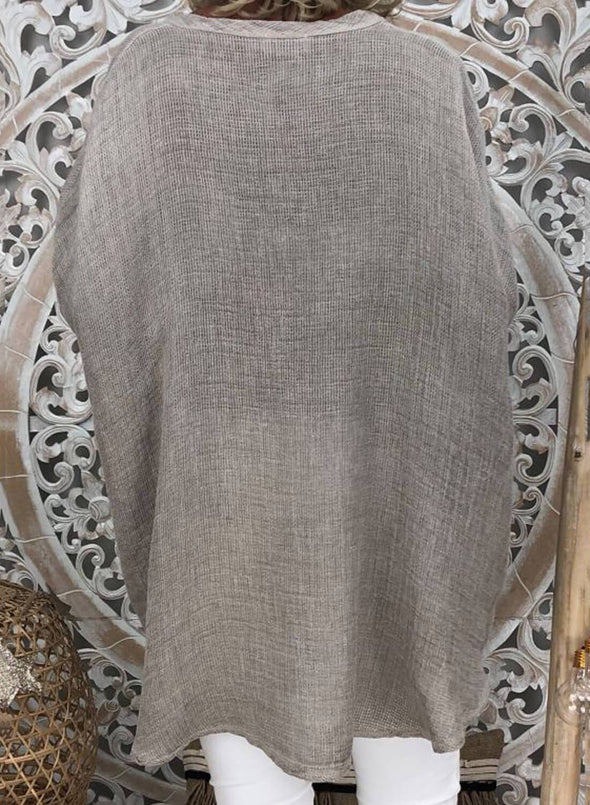 Tunic Loose Cotton Top