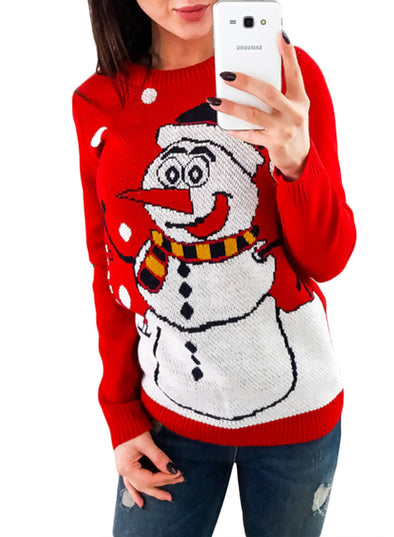 Christmas Crew Neck Sweater