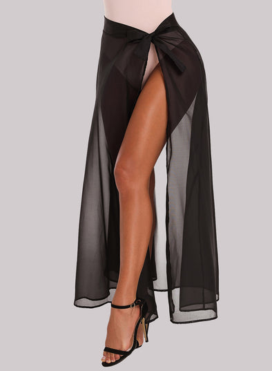 Sarong Sheer Wrap Beach Skirt