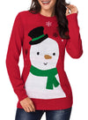 Cartoon Snow Christmas Sweater