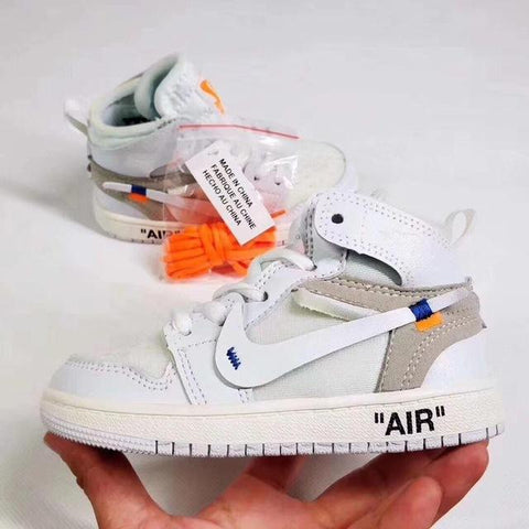 "Air ""Jordan 1 Retro High Off-White"" Bag Charm / Display - AZOODEAL"