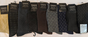 "9 Pair Men's Dress Sock Collection Bundle ""H-1""  -  You get everything that's pictured here"